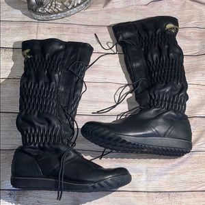 Sorel Firenzy Water proof winter Boots Black 5 #5